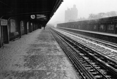 Glenn Goldstein, 'Snowstorm on Pelham Parkway #2', 1986