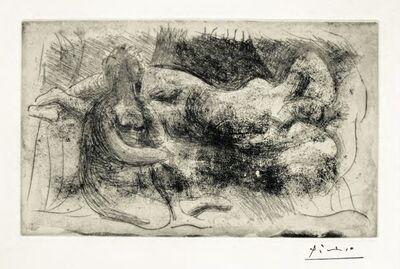 Pablo Picasso, 'Femme Veillant une Dormeuse', 1932