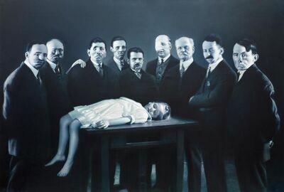 Gottfried Helnwein, 'Epiphanie III (Darstellung im Tempel)', 1998