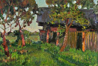 German Alexeevich Tatarinov, 'Autumn Homestead #56', ca. 1980