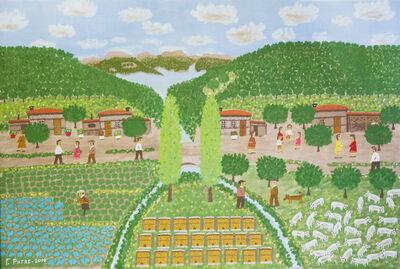 Giorgos Rigas, 'Sprinkling the Vines', 2000