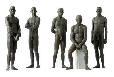 James Mathison, 'Personajes I al V', 2007