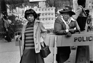 Dawoud Bey, 'Two Women at a Parade, 1978', 1978