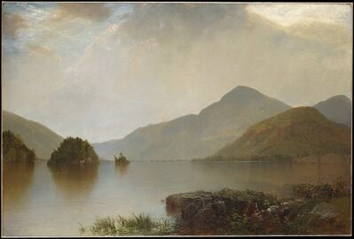 John Frederick Kensett, 'Lake George', 1869