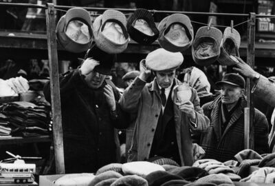 Art Shay, 'Marcel Marceau on Maxwell Street', 1956