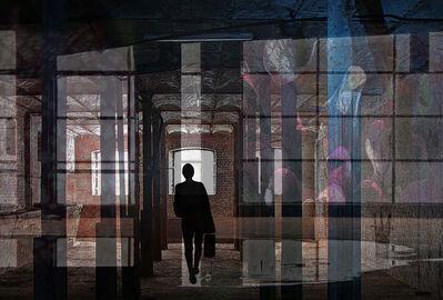 Lut Moerenhout, 'Curtains of colour revealing light', 2018