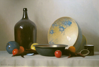 Robert Douglas Hunter, 'Still Life Objects with Fruit', 2004
