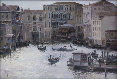 Jose Luis Checa Galindo, 'Venice'