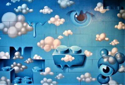 Gum, 'Hommage à Magritte', 2019