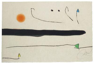 Joan Miró, 'Le Marteau sans maître: one plate (Dupin 944)', 1976