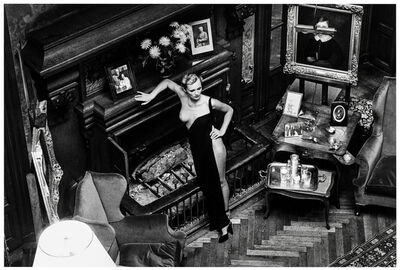 Helmut Newton, 'Rosalyne at Arcangue ', 1975