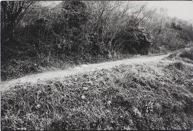 Kazuo Kitai, 'Rural Path, Kume, Okayama (To the Villages series)', 1974