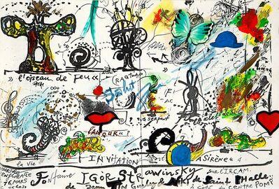 Jean Tinguely, 'L'oiseu de Feu di I. Strawinsky'