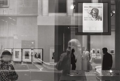 Beaumont Newhall, 'Self Portrait at the Museum of Modern Art, New York', 1970