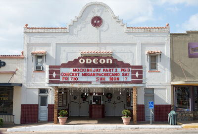 Peter Brown, 'Central Texas: Odeon Theater (the oldest continually operating movie theater in Texas), Mason', 2015