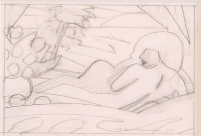 Tom Wesselmann, 'Drawing for Sunset Nude (Big Scene)', 2002