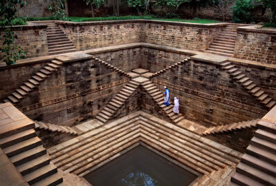 Steve McCurry, 'Rajasthan Stepwell', 2002