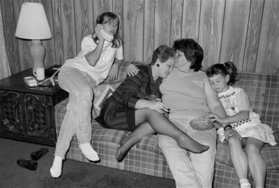 Sage Sohier, 'Pinky & Diane with 2 of Diane's 8 Children, Kenner, LA', 1988