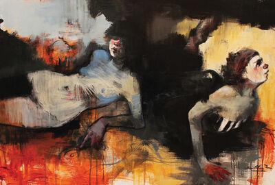 Cathrine Edlinger-Kunze, 'Transparent Blue', 2017