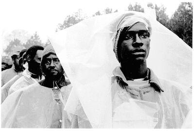 Steve Schapiro, 'Selma Marchers in the Rain', 1965