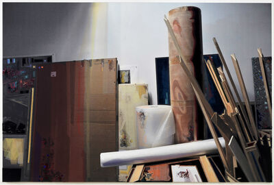 Berend Strik, 'Experience intervisuality of Dr. Nicholas Mirzoeff in the making of the studio', 2013