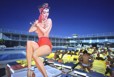 Robert Funk, 'Pin-up Miami Beach ', 1977