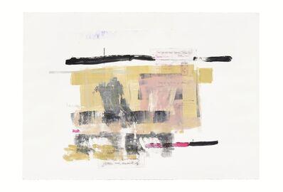 Rebeca Mendoza, 'Serie Cortazar, Monoprint P', 2015