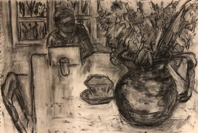 Anne Delaney, 'At the Table', 2000