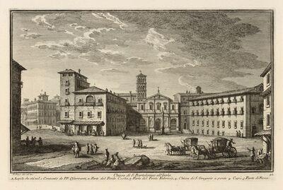 Giuseppe Vasi, 'Chiesa di S. Bartolomeo all'Isola', 1747