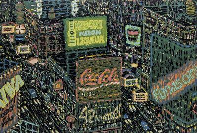 Yvonne Jacquette, 'Times Square', 1987