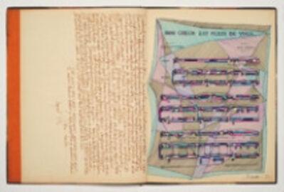 Myra Landau, 'Cuaderno partituras', 1983