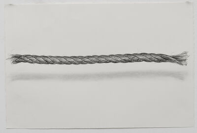 Claudia Parducci, 'Rope Drawing, Day 23', 2019