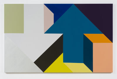 Tony Tasset, 'Arrow Painting 55', 2016