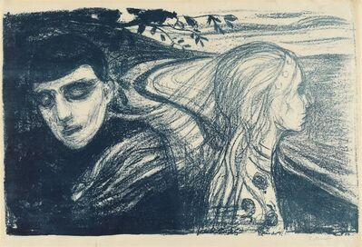 Edvard Munch, 'Løsrivelse II / Separation II', 1896