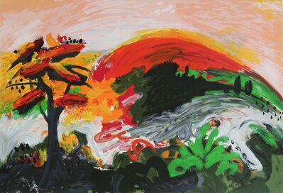 Yehouda Chaki, 'Spring Mountain', 1995
