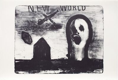 David Lynch, 'New World', 2014