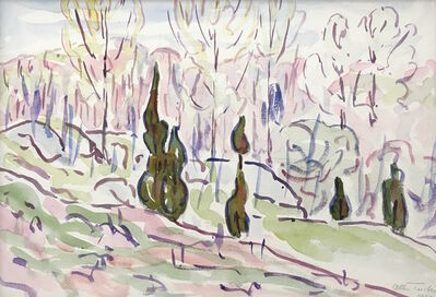 Allen Tucker, 'Poplars', 1930