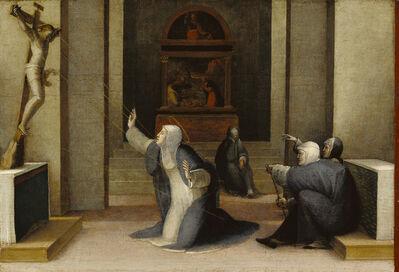 Domenico Beccafumi, 'Saint Catherine of Siena Receiving the Stigmata', 1513-1515