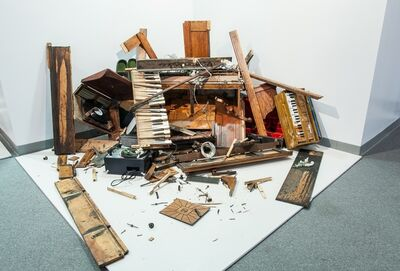 Lonnie Holley, 'Vox Humana II: Information and Instructions (Music Is Still Strong After Being Torn to Pieces)', 2014