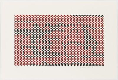 Roy Lichtenstein, 'Haystack #2', 1969