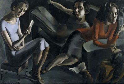 Ángeles Santos, 'Tertulia (The Gathering)', 1929