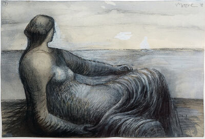 Henry Moore, 'Drawing 22 from notebook 3', 1969-1976