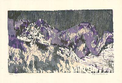 Wolff Buchholz, 'Liegende / Reclining Woman', 1961