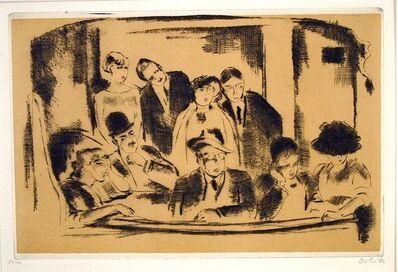 Emil Orlik, 'Die Loge im Gaite Montparnasse (Paris)', 1911