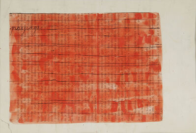Mangelos, 'Paysage', 1951-1956