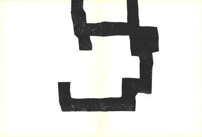 Eduardo Chillida, 'Lines encroaching', 1970