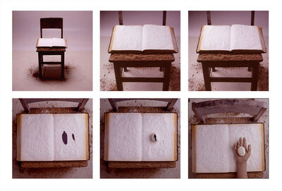 Victor Vazquez, 'Chair and Book', 2002