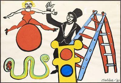 Alexander Calder, 'Serpent vert', 1972