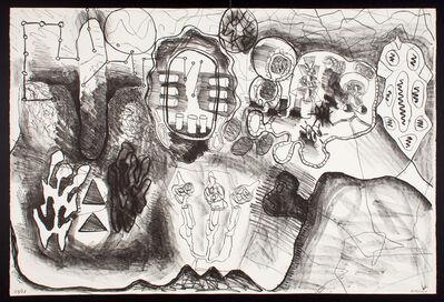 Luis Gordillo, 'Todos los hombres patata quieren a las mujeres patata No. 2', 1987