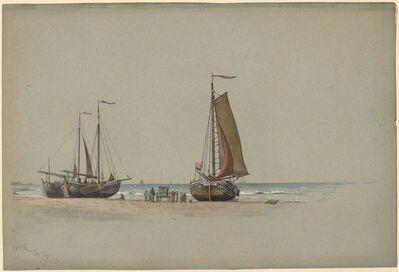William Stanley Haseltine, 'Blankenberge No.3', 1875